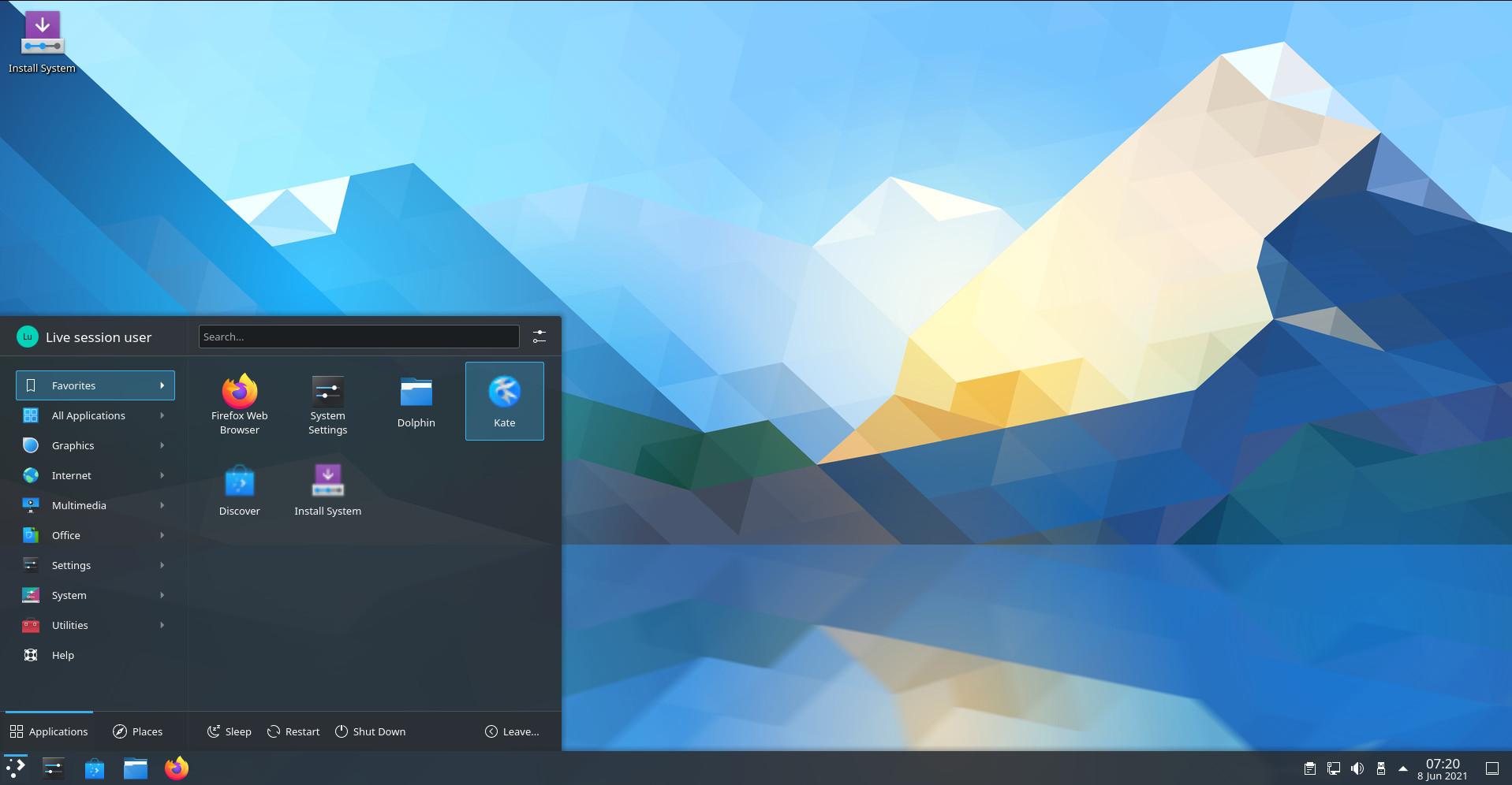 KDE Plasma 5.22.5 lançado com várias correções de bugs