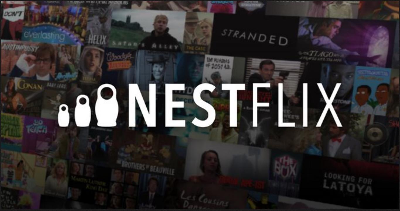 Conheça a Nestflix, uma Netflix para filmes e programas fakes