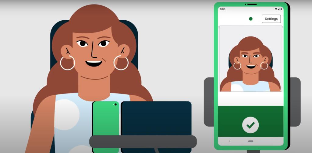Google lança novas maneiras de controlar dispositivos Android com gestos faciais