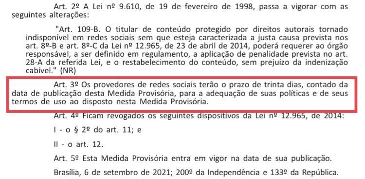 Empresas e entidades criticam Medida provisória que altera o Marco Civil da Internet