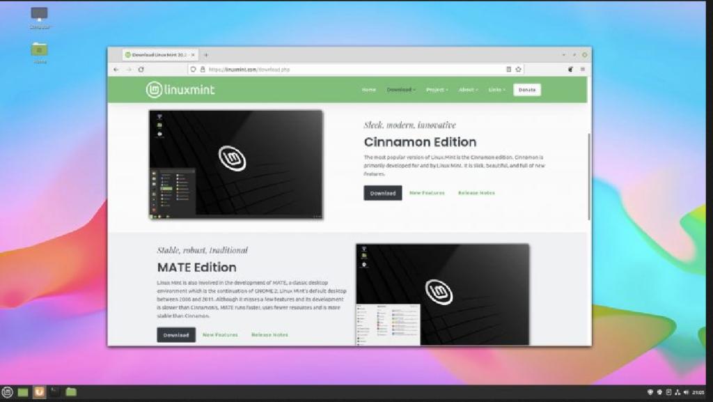 Linux Mint já tem novo site