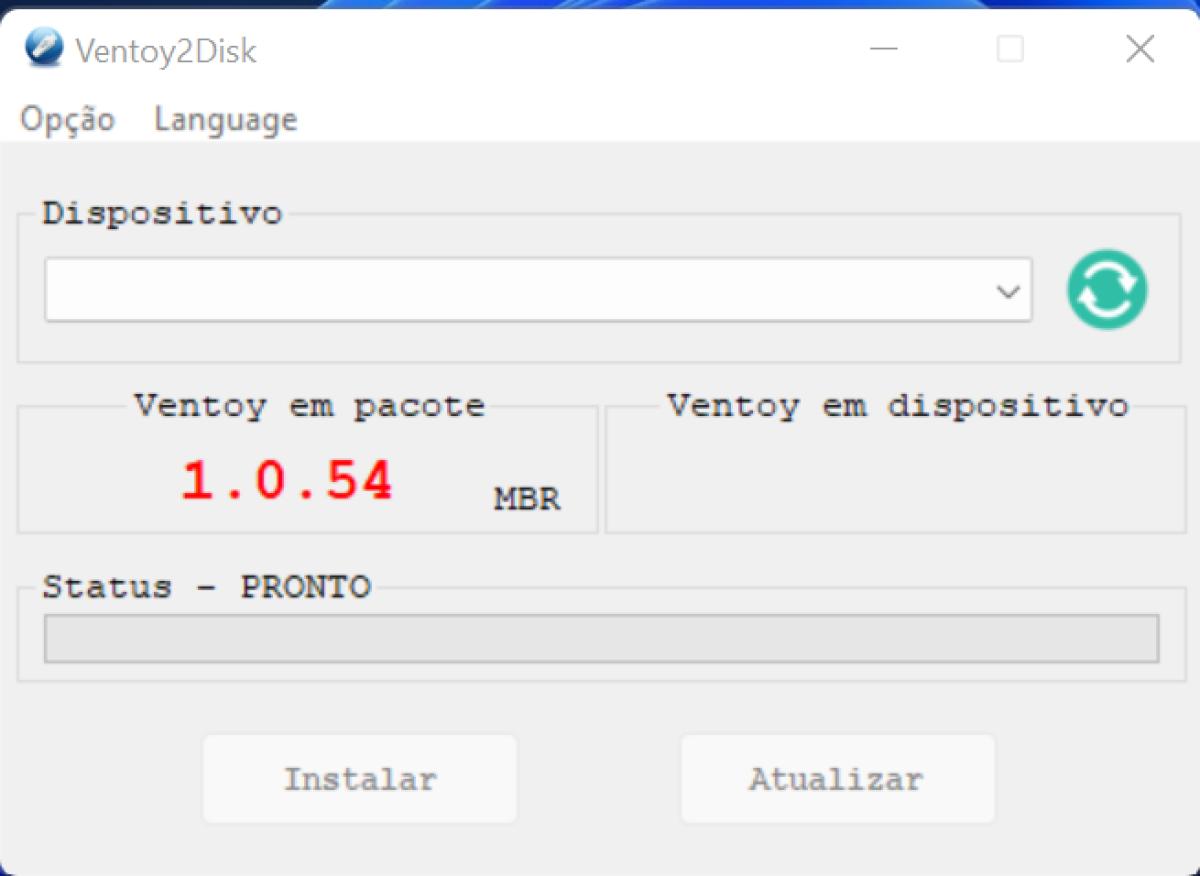 Multiboot USB Creator Ventoy adiciona modo GUI à imagem ISO live